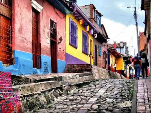 Barrio La Candelaria-Colombia