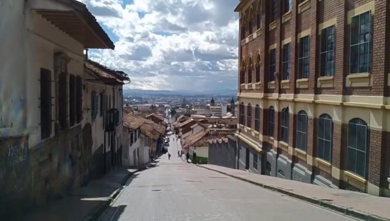Barrio la calendaria-Bogota, Colombia