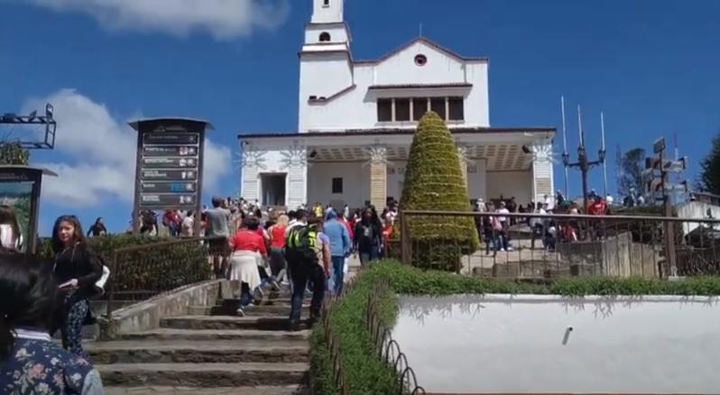 Bogota, Cerro Monserrate