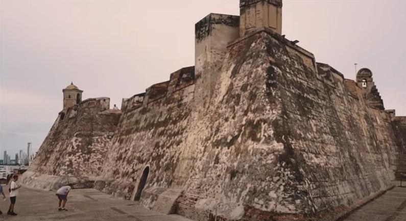 Cartagena de Indias, Murallas de Cartagena, Colombia