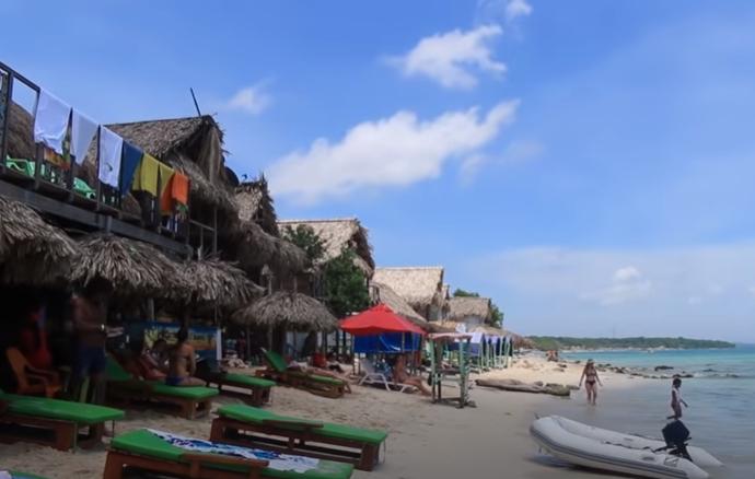 Cartagena de Indias, Peninsula de Baru