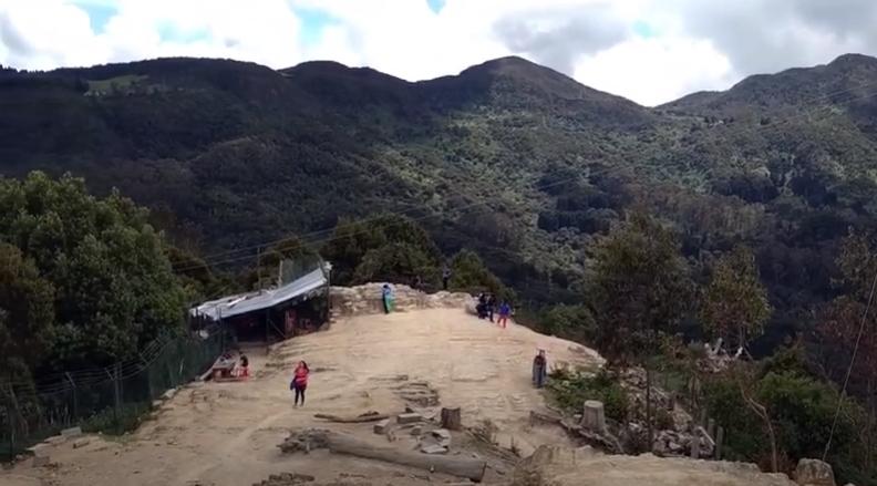 Cerro Monserrate-Bogota, Colombia