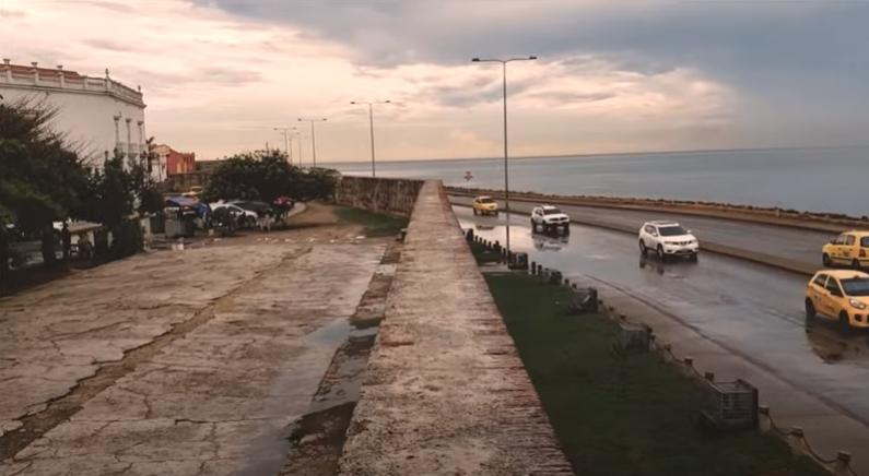 Colombia, Cartagena de Indias, Murallas de Cartagena