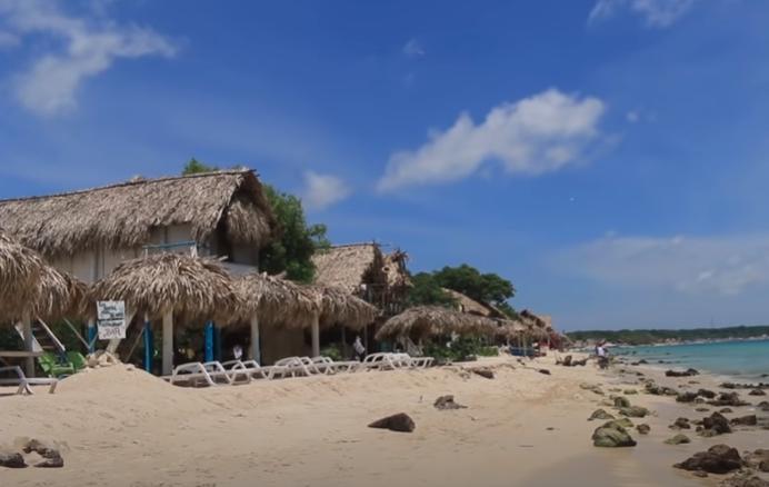 Colombia, Cartagena de indias, Peninsula de Baru