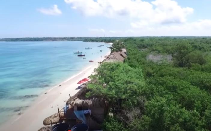 Peninsula de Baru, Cartagena de Indias, Colombia